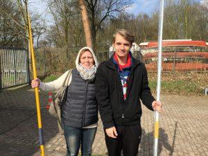 Sabine Drochner und Jakob Bock